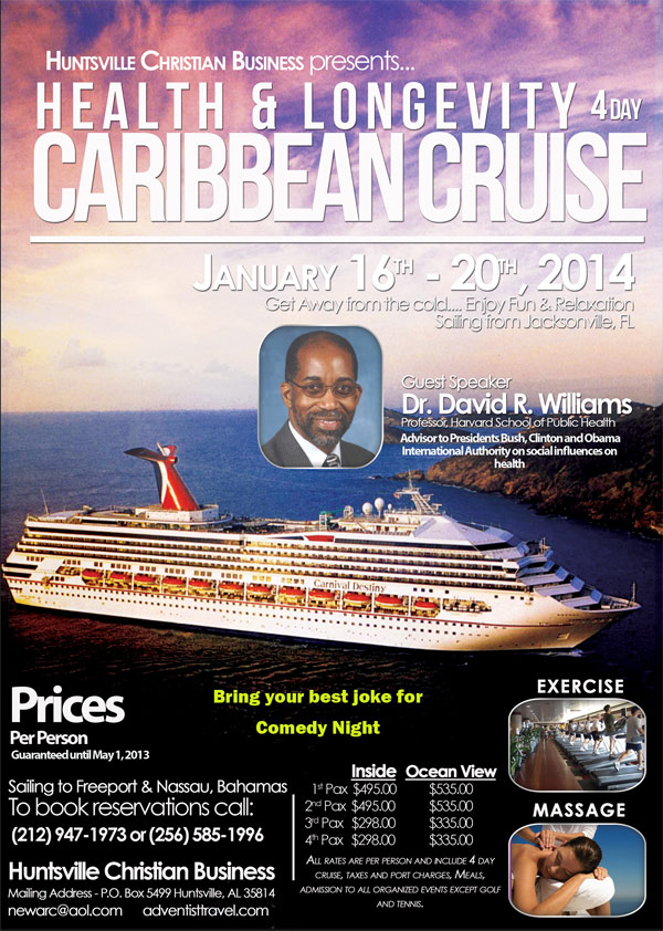 health wellness Caribbean Cruise